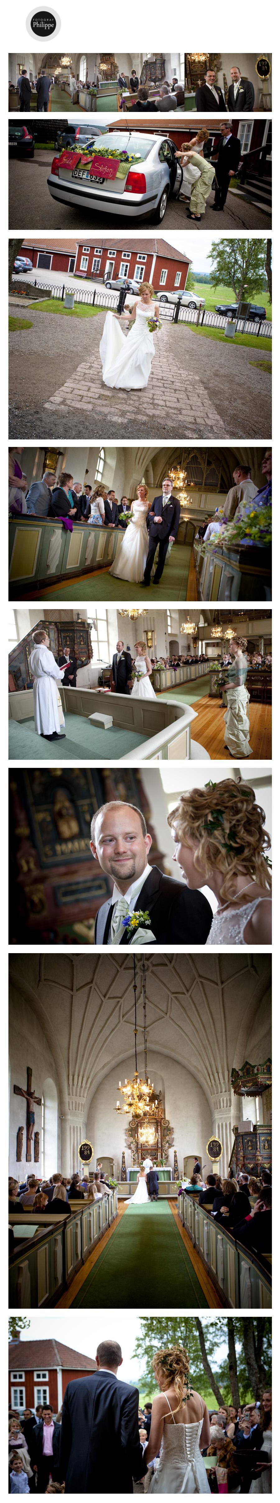 Frida & Stefan i Hälsingtuna kyrka / Hälsingland