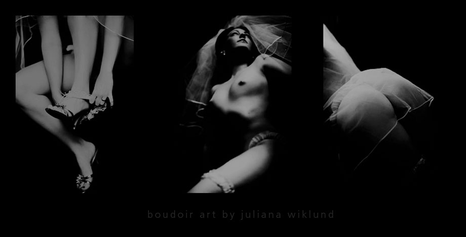 Juliana Wiklund/morethanwords.se: Boudoir Art 1