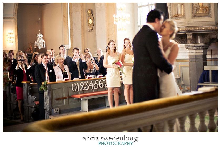 Bröllopsfotograf Alicia Swedenborg: Helena & Daniel's Vaxholmsbröllop 5
