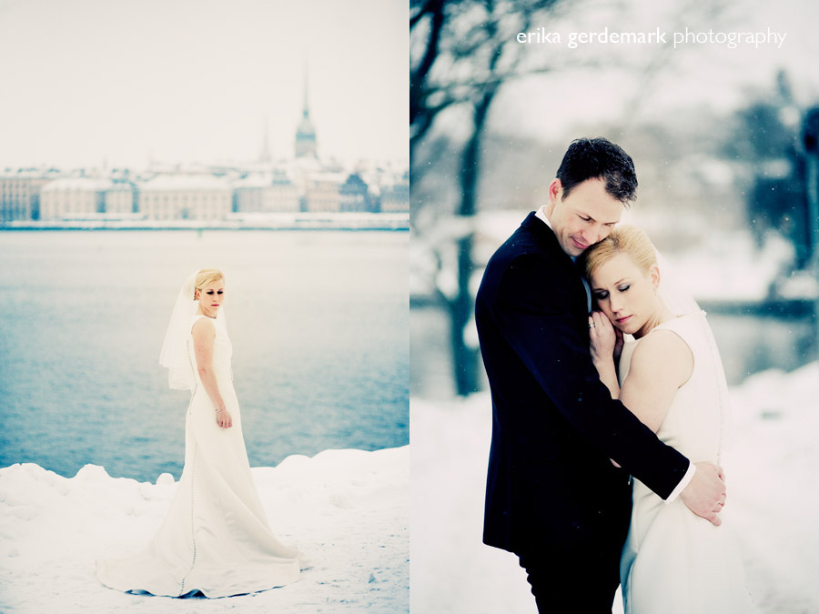 Winter wedding in Stockholm - Erika Gerdemark Photography 3