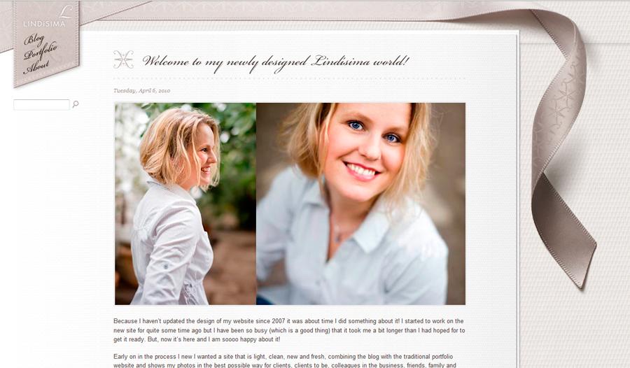 Lindísima/Linda Broström Cabrera - Ny blogg och hemsida! 1