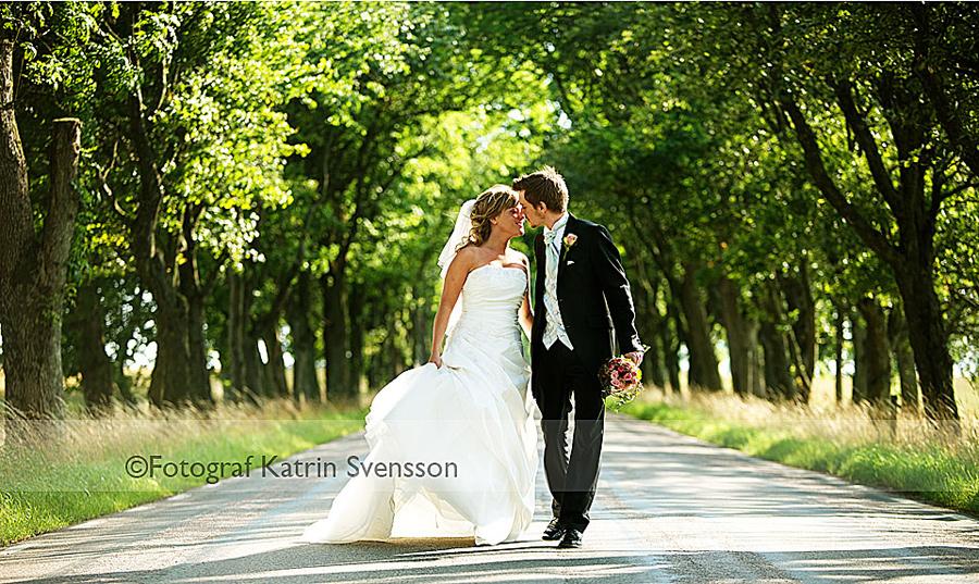 Bröllopsbild Jannice och Rickard, Halmstad 1