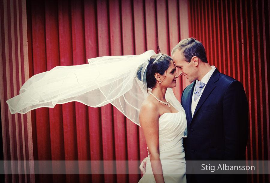 Bröllopsbild från Skärhamn