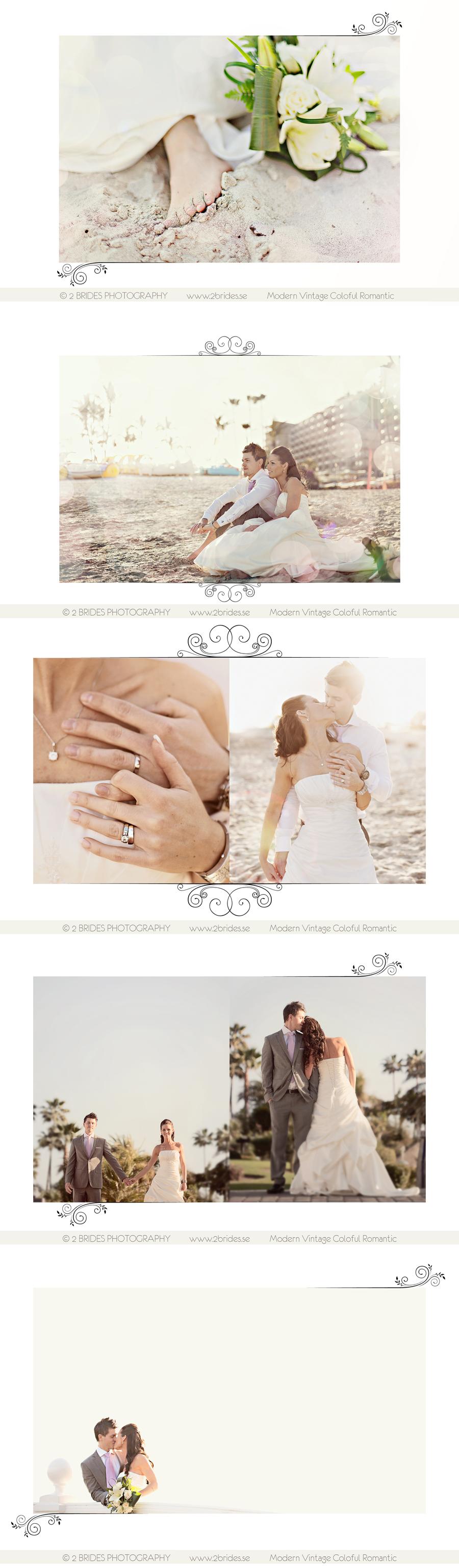2 Brides - Bröllopsbilder från Gran Canaria 12 januari 2011 1