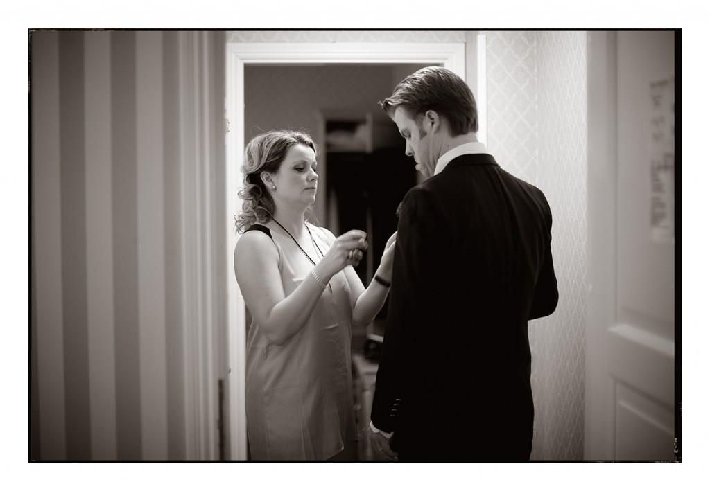 Åsa & Mickes vinterbröllop på Ekerö 1