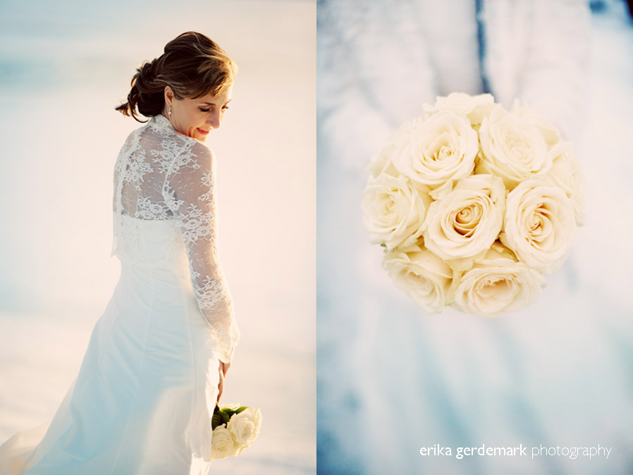 Bröllopsfotografering i vinterlanskap Stockholm - Erika Gerdemark Photography 3