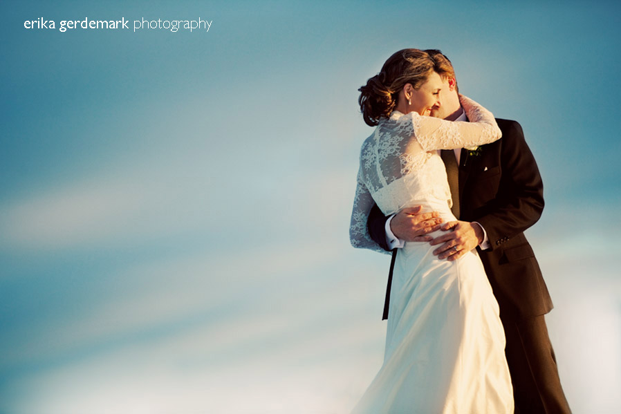 Bröllopsfotografering i vinterlanskap Stockholm - Erika Gerdemark Photography 6