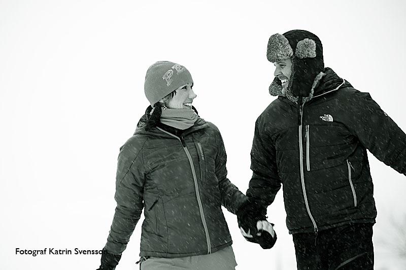 """Fotografering av """"dagen före"""" bilder i snöstorm i Åre 18"""