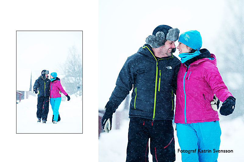 """Fotografering av """"dagen före"""" bilder i snöstorm i Åre 17"""