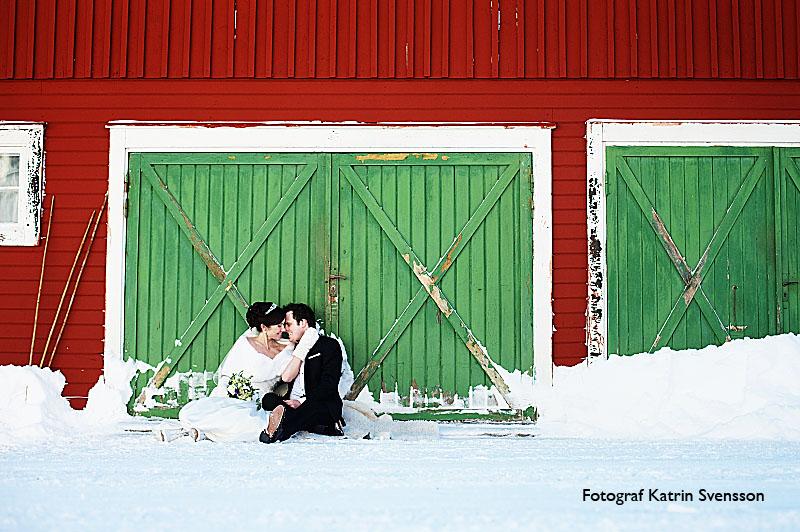 Bröllopsbilder Martina och Björn i Åre 2