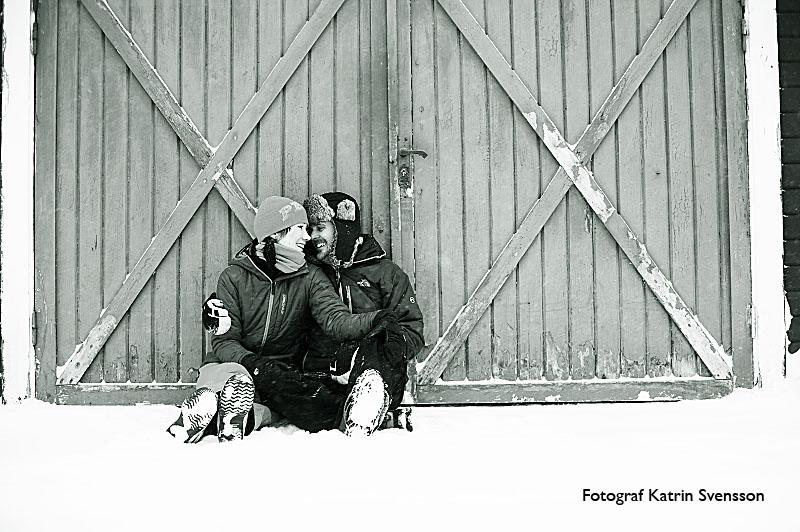 """Fotografering av """"dagen före"""" bilder i snöstorm i Åre 15"""
