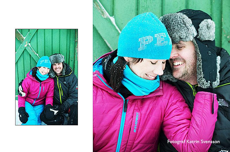 """Fotografering av """"dagen före"""" bilder i snöstorm i Åre 2"""