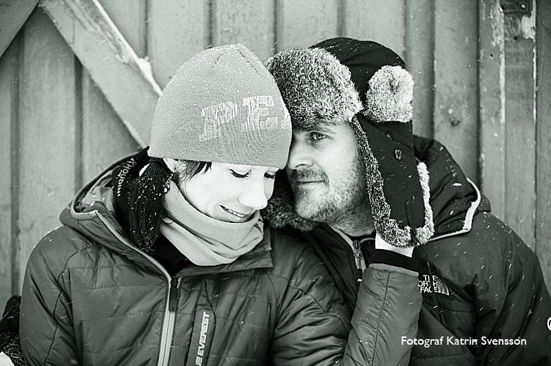 """Fotografering av """"dagen före"""" bilder i snöstorm i Åre 1"""