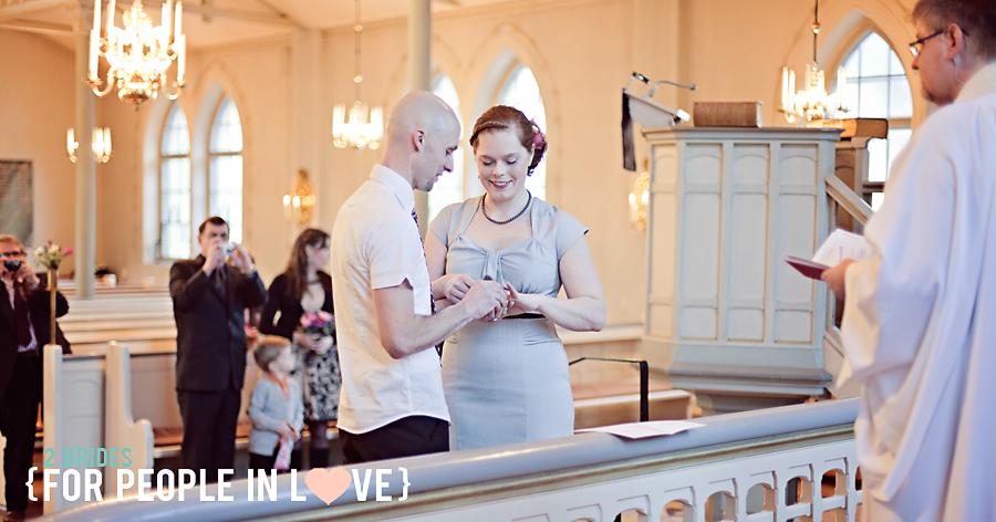 Bröllop, Duvbo Kyrka 11 mars 2011 14