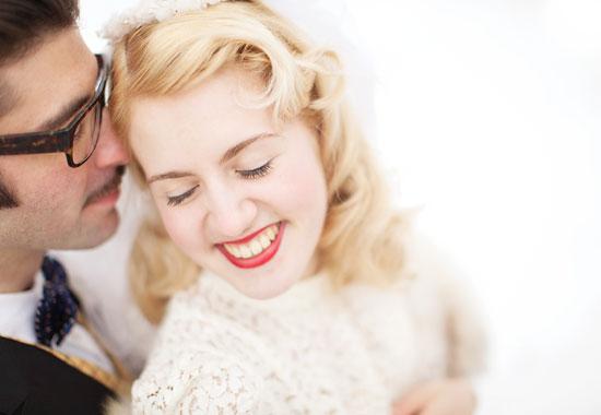 Vinter vintage bröllop - bröllopsfotograf Alicia Swedenborg 1