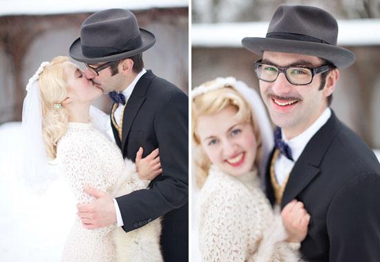 Vinter vintage bröllop - bröllopsfotograf Alicia Swedenborg 4