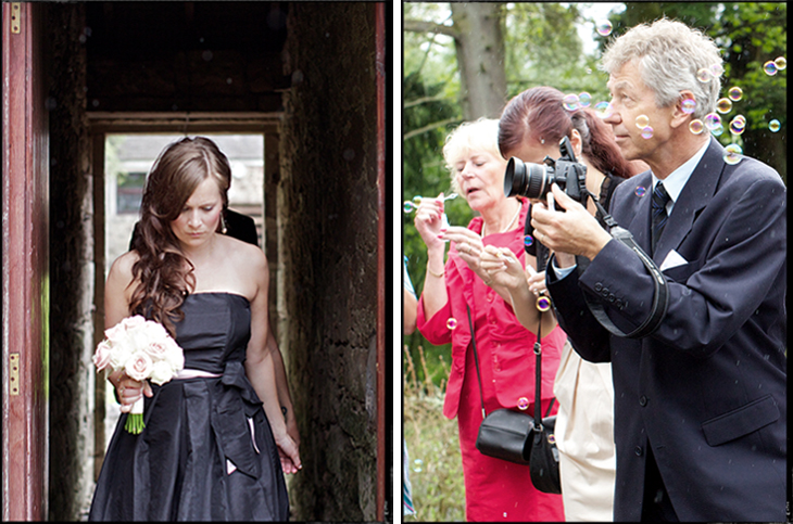 The day the wedding reporter tied the knot 12