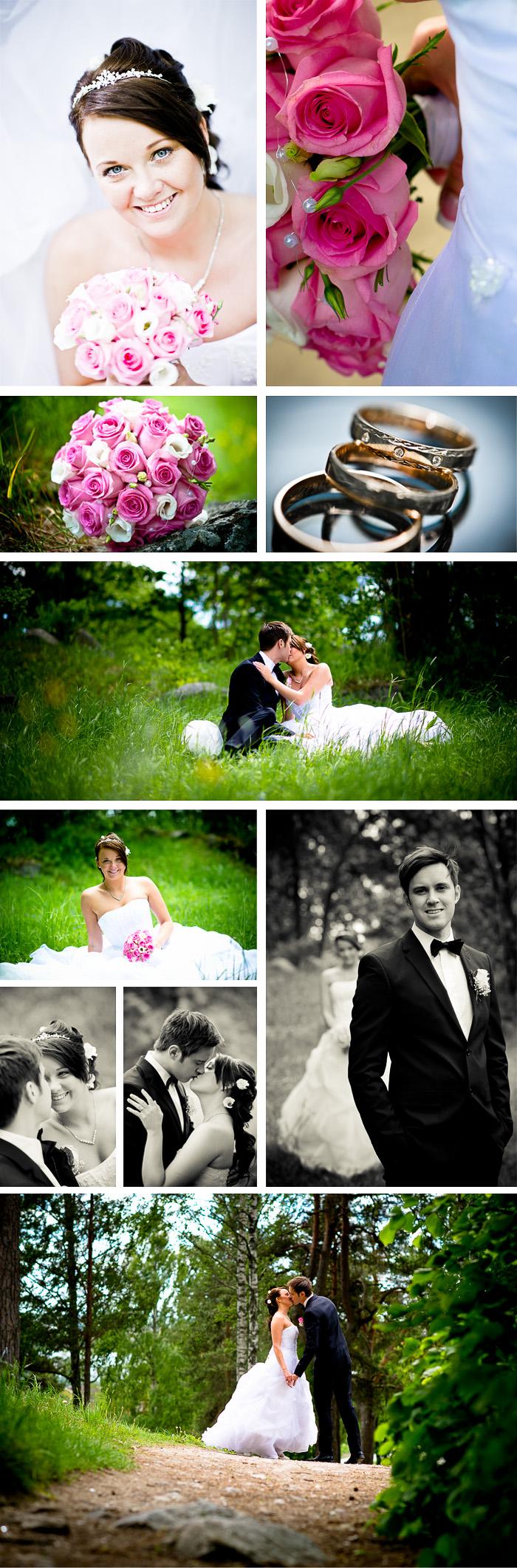 Bröllopsfotografering Angelica och Mathias 3