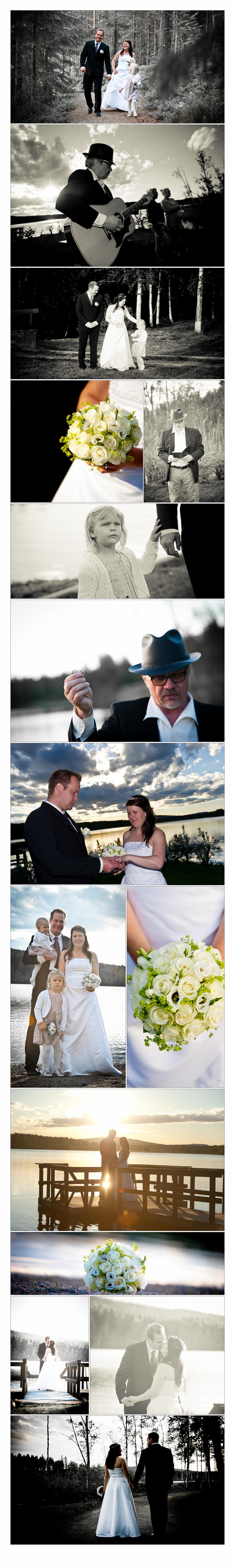 Bröllop vid Ångersjön (Hälsingland); Katarina och Stefan 3