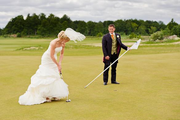 Golfbröllop! 2