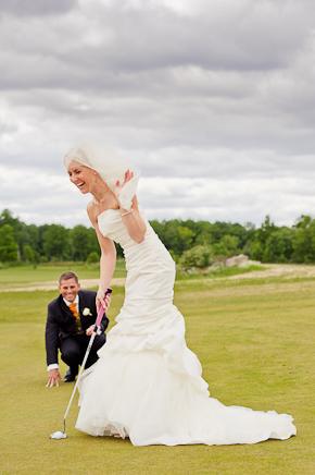 Golfbröllop! 3