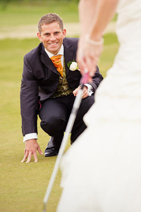 Golfbröllop! 4