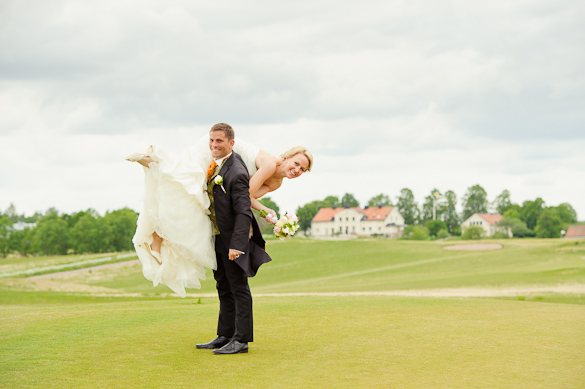 Golfbröllop! 9