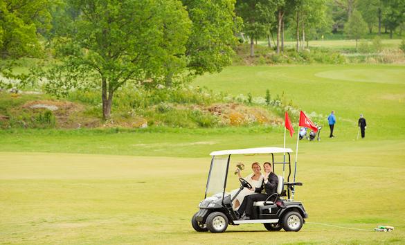 Golfbröllop! 11