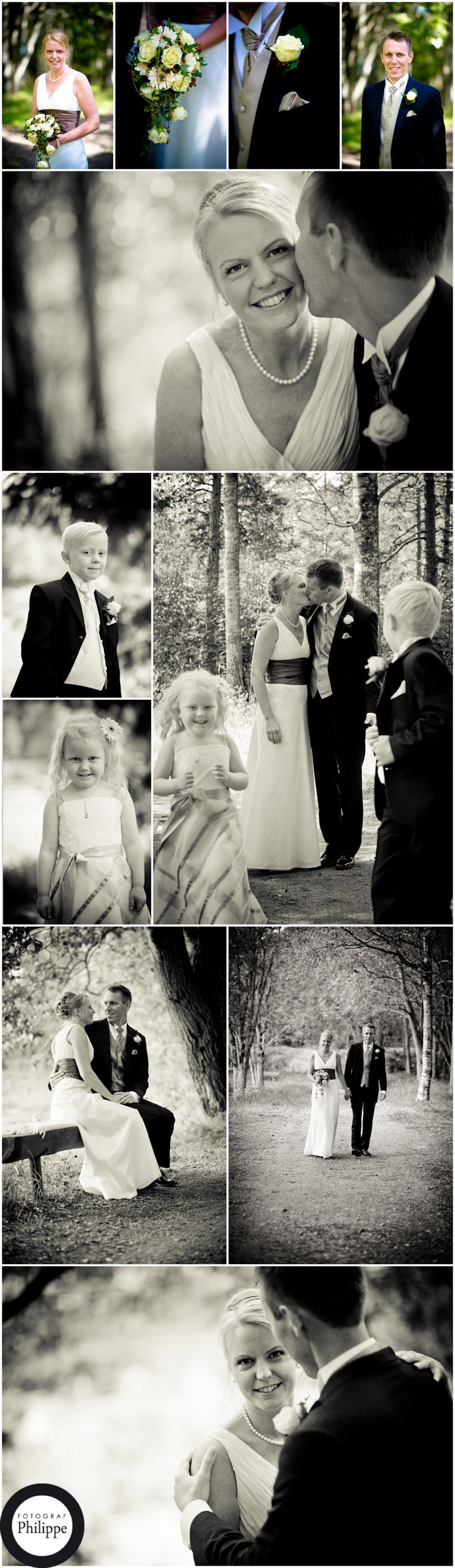 Höstbröllop; Ann-Katrin och Björn 1