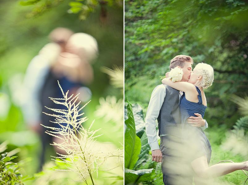 Försommarbröllop i Botaniska trädgården, Göteborg, Fotograf Linda Jönér 15