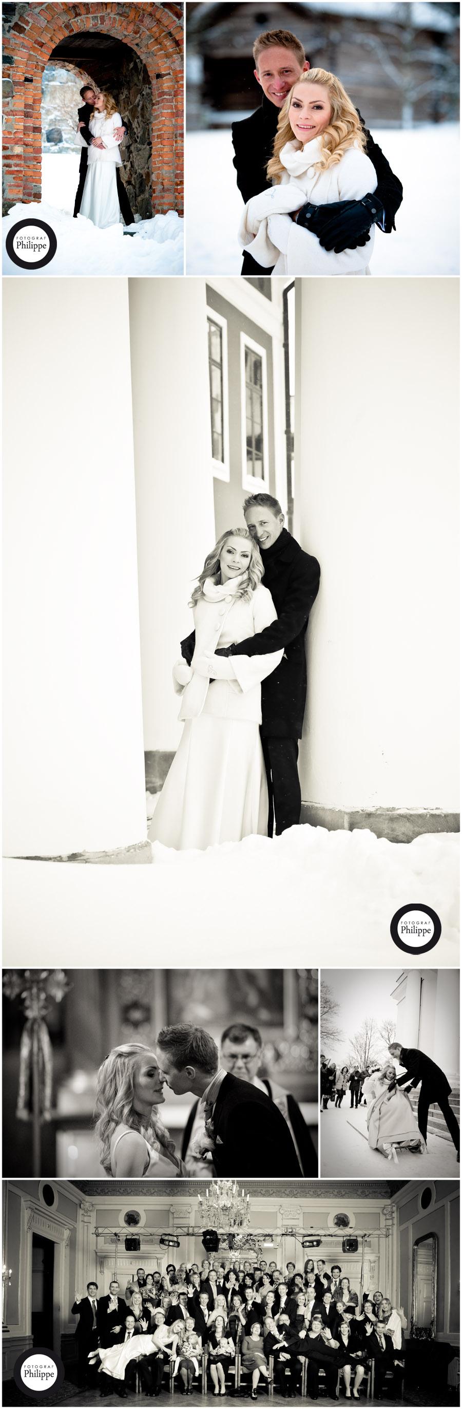 Vinter bröllop i Härnösand; Jenny och Peter 3