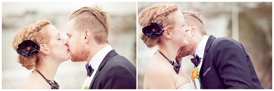 Ett vintrigt skärgårsbröllop - Fotograf Linda Jönér 10
