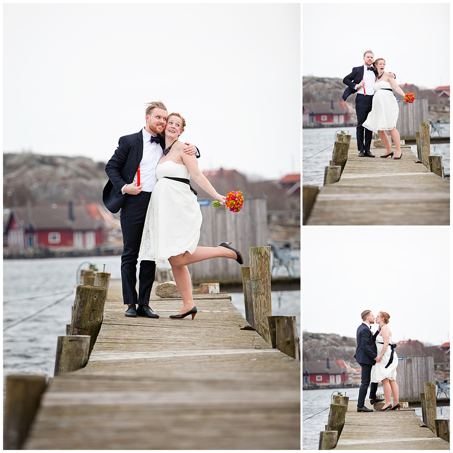 Ett vintrigt skärgårsbröllop - Fotograf Linda Jönér 9