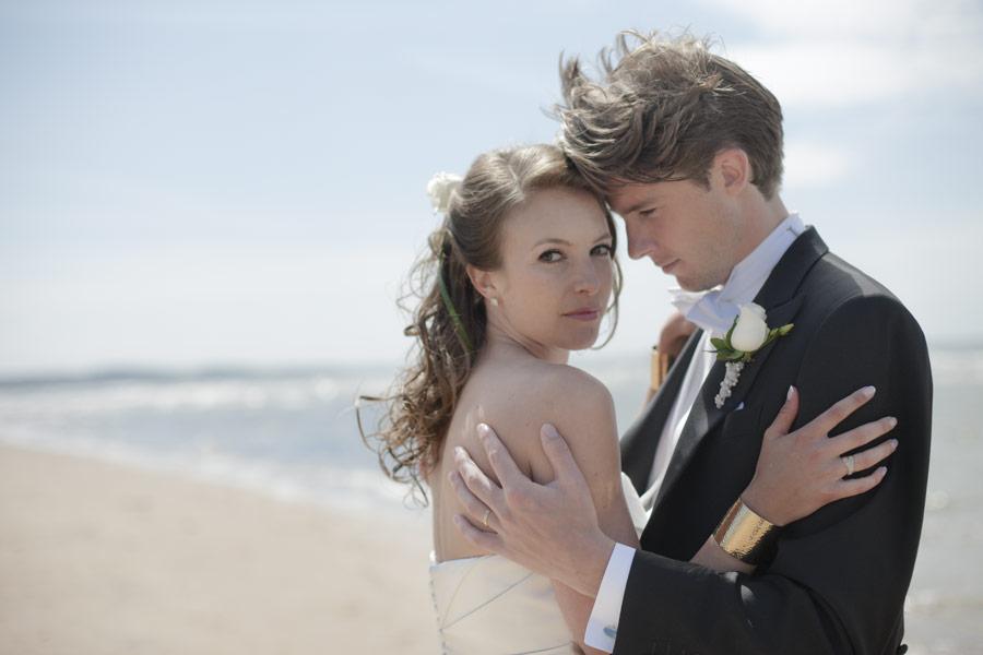 Ännu en bröllopsbild på vackra paret Sofia och Fredrik, Halmstad, Halland, 1