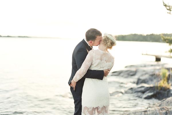svensk / franskt bröllop i stockholms skärgård - bröllopsfotograf Alicia Swedenborg 1