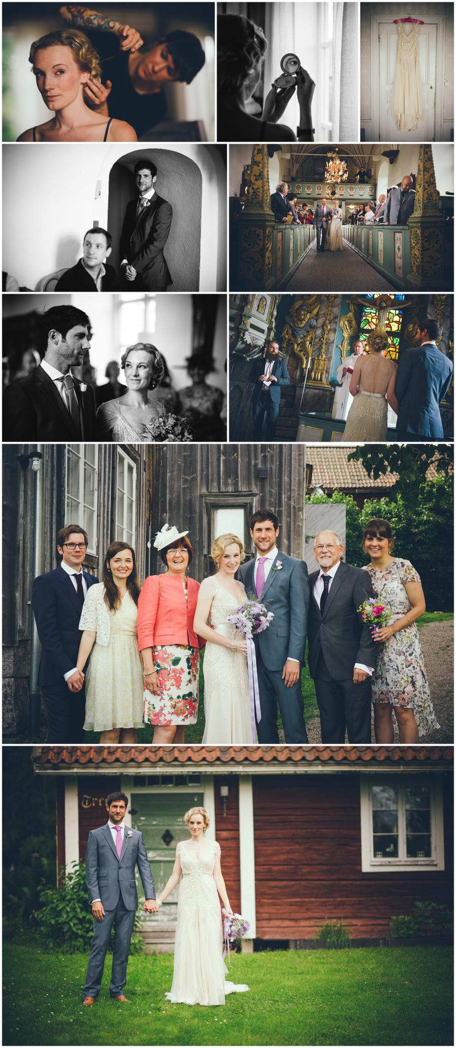 Bröllop i vackra Hälsingland på Frägsta Kulturgård. Therese & Mat den 14 juli 2012 3