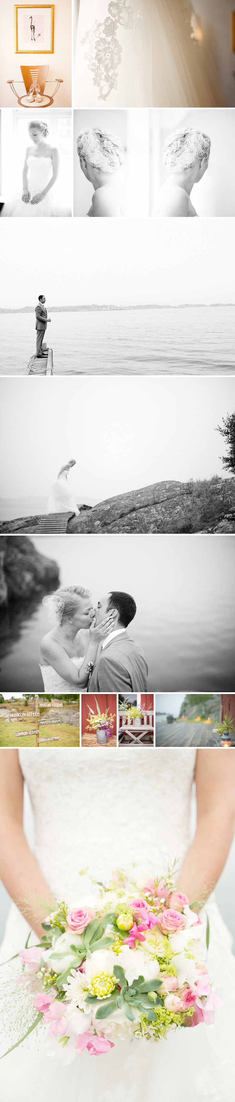 Destination Wedding in the Archipelago of Gothenburg