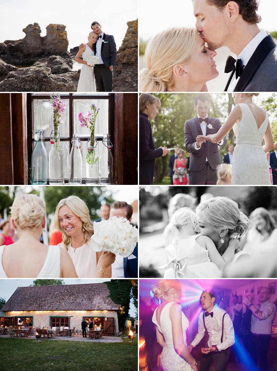 Bröllop på Grå Gåsen - Gotland 1