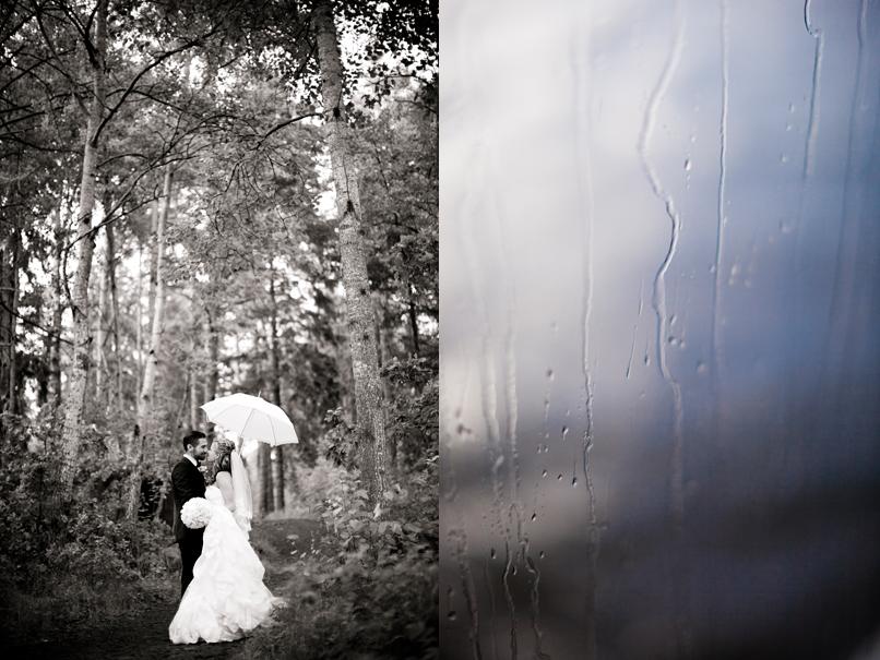 Lindísima/Linda Broström - Regniga bröllop 1