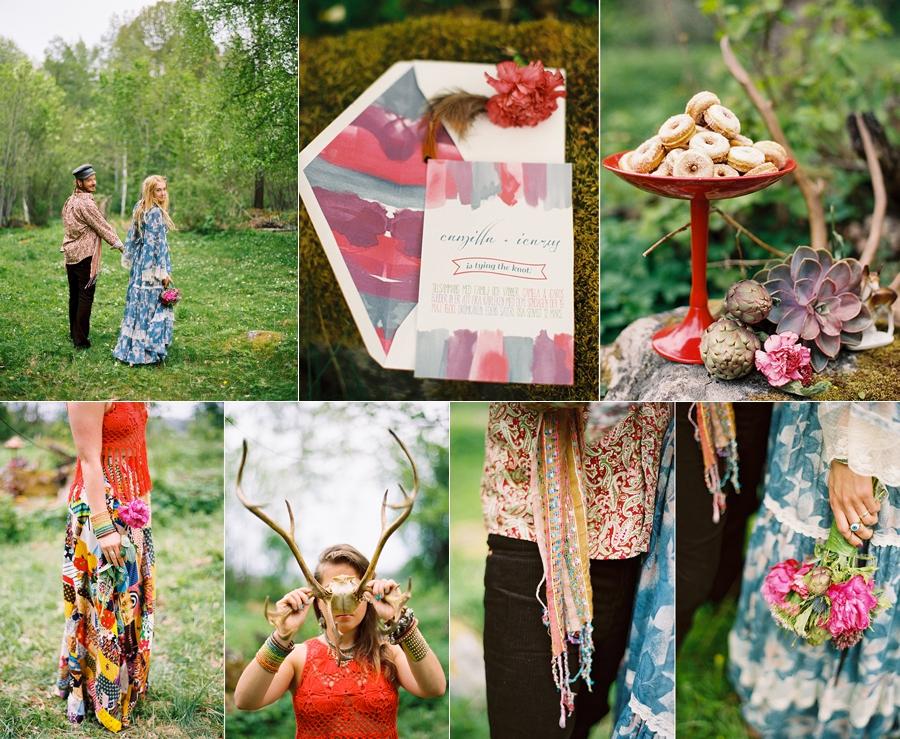 alternativt bröllop i skogen