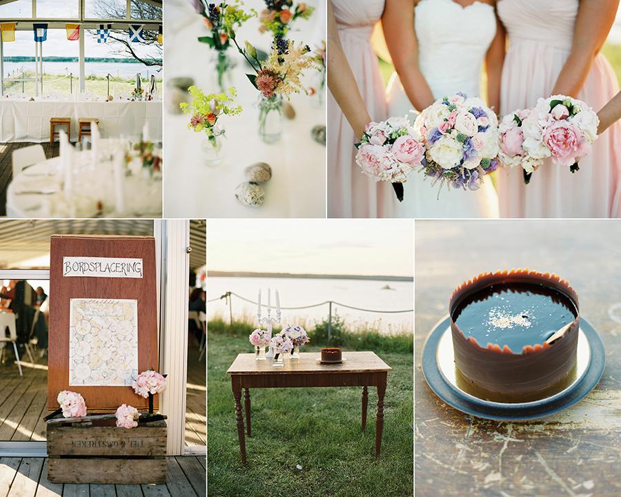 skärgårdsbröllop i Stockholm