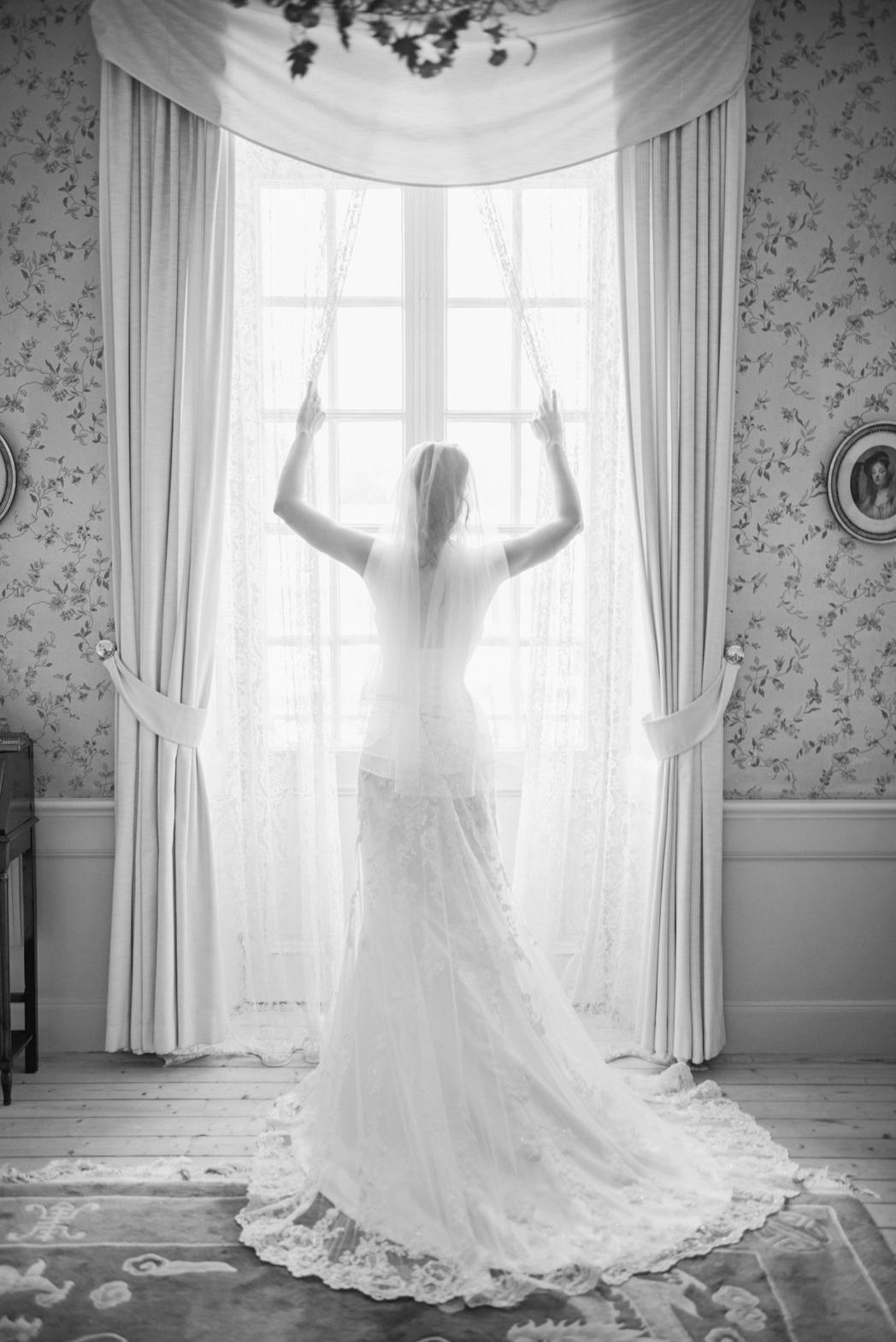Förberedelser bröllop Kronovalls vinslott 1