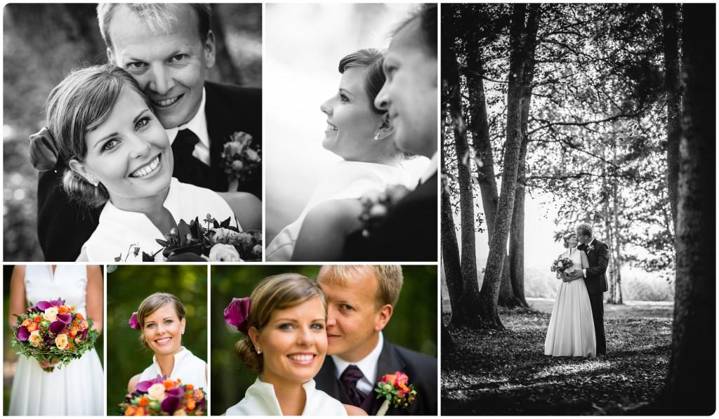 Höstbröllop i Hälsingland; Emma & Mark 1