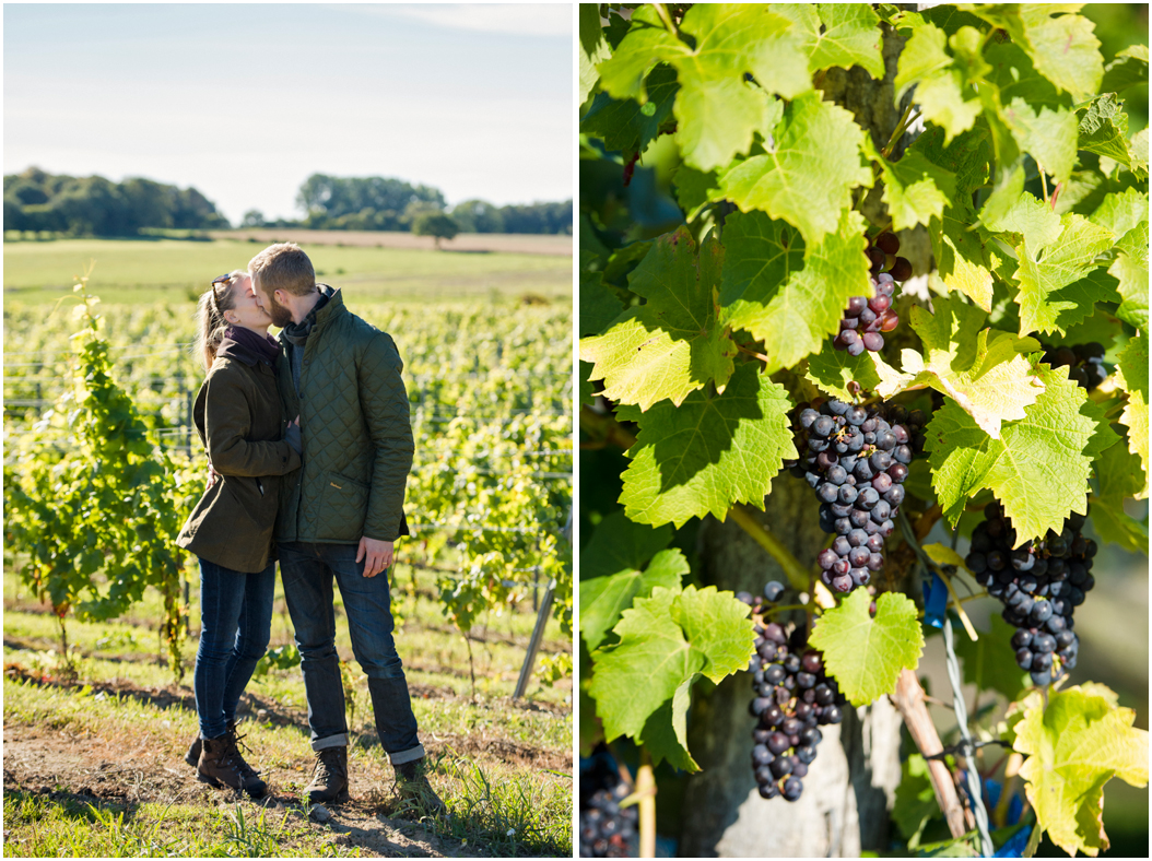 Höstbröllop bland vinrankorna! 2