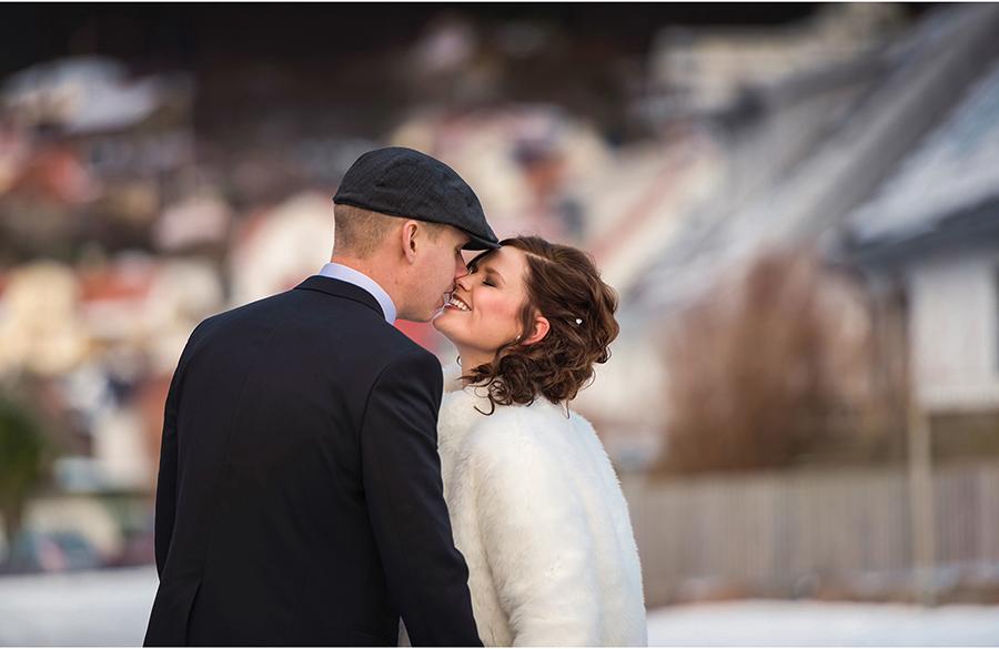 Elin + Martin Vinterbröllop i Mölle - Fotograf Anna Lauridsen, Kullafoto 10