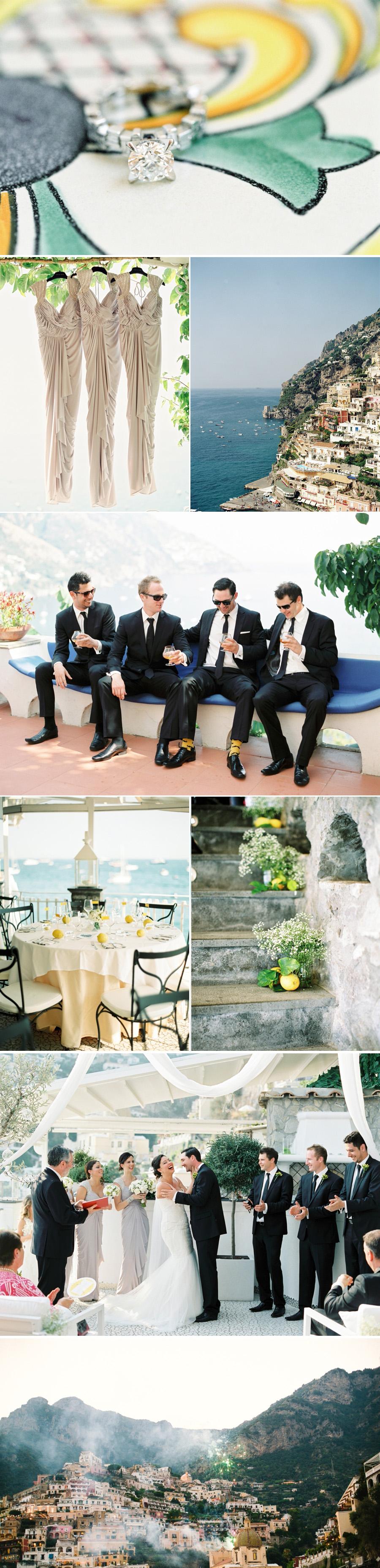 Bröllop med medelhavskänlsa fotograferat av 2 Brides Photography