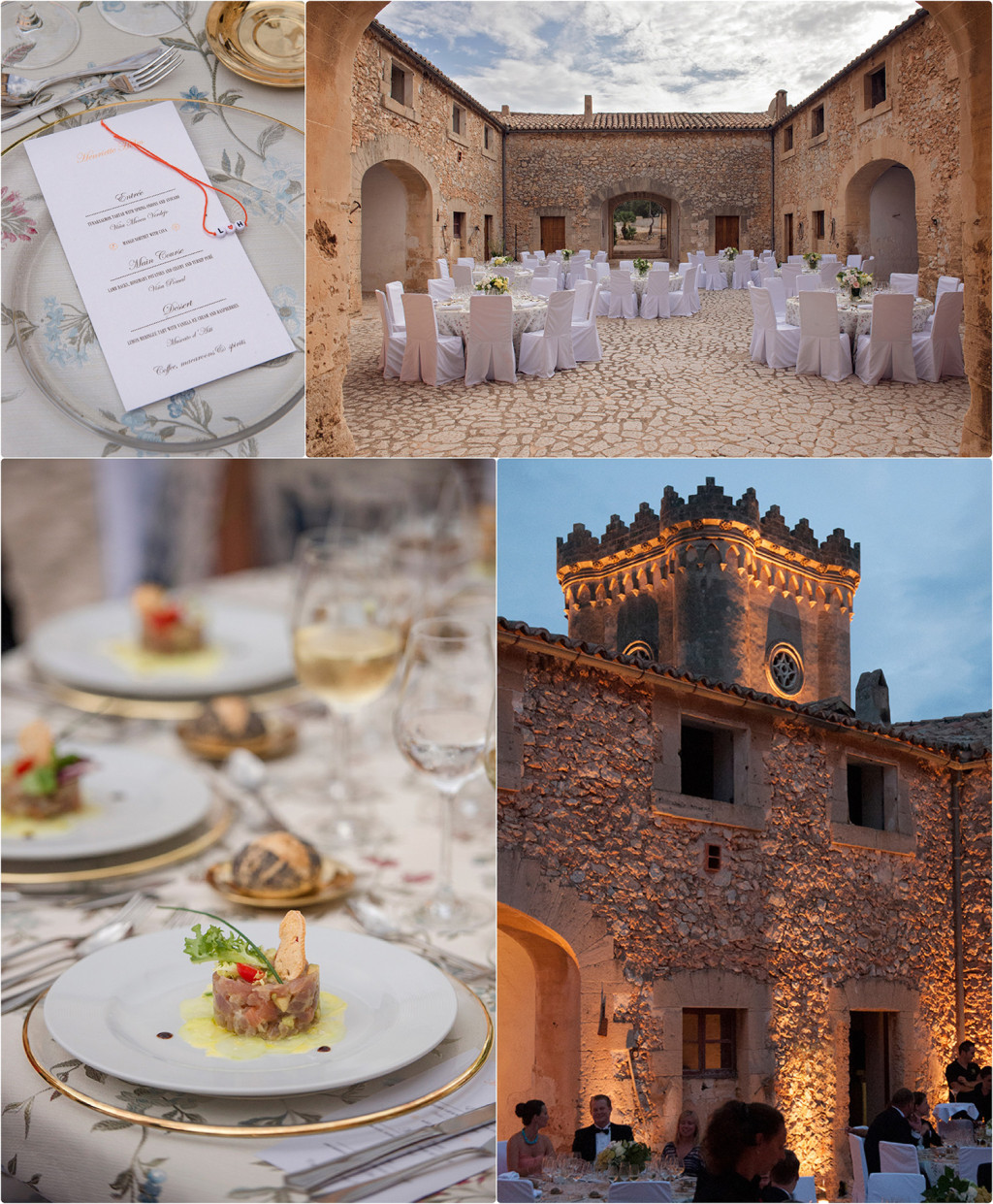 Destination Wedding Mallorca Castillo Bendinat Mallorca 2014 http://annalauridsen.com