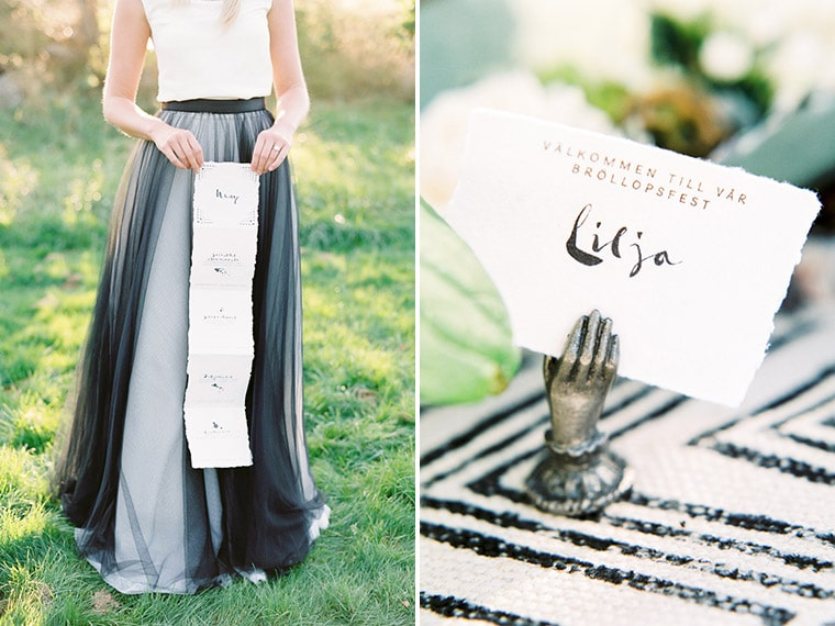 tiny hand place card holder
